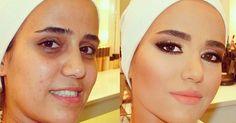 Maquiador libanês faz sucesso com seus antes e depois surpreendentes - Beleza - UOL Mulher