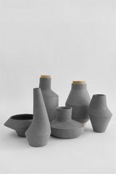 Kami Pots by Ett La Benn. Visit Design Inspirations: http://inspirations.caesarstone.com/