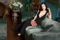 Dita being Dita: At home with burlesque queen Dita Von Teese