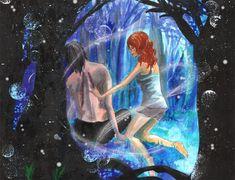 Fallen by Nekonyo on DeviantArt Hush Hush, Watercolor Illustration, Fallen Angels, Deviantart, Artist, Artwork, Anime, Painting, Books