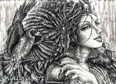 Morrigan Celtic goddess