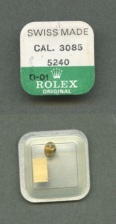 Watches for Parts 165144: Genuine Factory Sealed Rolex Original Cal. 3085 Part 5240 Stundenrad Wheel -> BUY IT NOW ONLY: $50 on eBay!