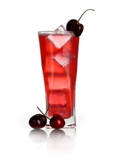 Hunger Games-themed cocktails: Katniss's Cherry Kiss #HungerGames