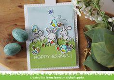 Nichol Spohr LLC: Lawn Fawn | Hoppy Easter Pull Tab Slider Card