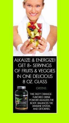 Greens - Alkalize, Detoxify, Balance and Energize  https://www.facebook.com/sassyandfabwraps