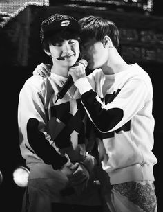 D.O. and Suho It's good to have someone to fall back on as the leader of exo