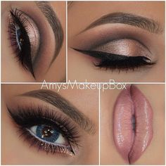 """You Are The Fairest Of Them All — """"Champagne pink cut crease ..."""
