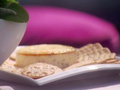 Sweet Basil Cheesecake recipe from Giada De Laurentiis via Food Network