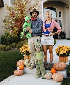 Family Halloween cos