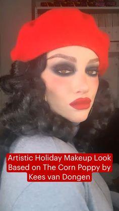 Love Makeup, Makeup Inspo, Makeup Inspiration, Makeup Tips, Beauty Skin, Beauty Makeup, Hair Beauty, Black Eyeliner Pencil, Holiday Makeup Looks