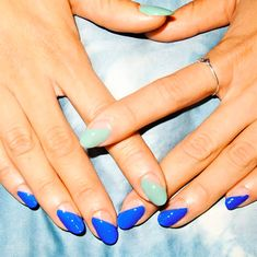 Don't forget the nails! 7 DIY Summer Manicures | Hello Fashion  http://miascollection.com