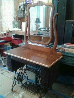 Altered Singer Machine / Dressing Table