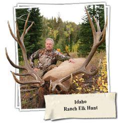 Idaho Elk Ranch Hunt http://gothunts.com/idaho-elk-ranch-hunt/