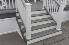 Understand the potential costs of building a deck up front, so you won't be surprised. Use our calculator to estimate the cost of deck boards, stairs, and more. Front Porch Steps, Deck Steps, Front Porch Design, Deck Gate, Pool Steps, Porch Designs, Front Deck, Deck With Pergola, Pergola Shade