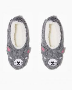 Cute Cat Sock Slippers
