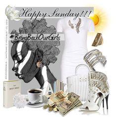 """HAPPY SUNDAY!!!: #BringBackOurGirls"" by enjoyzworld on Polyvore"