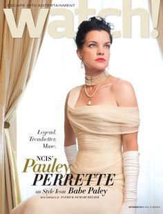pauley perrette I LOVE this picture!!!