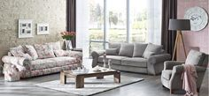 Country Living Room Suite Sofa, Couch, Armchair, Furniture Design, Living Room, Inspiration, Beautiful, Vintage, Home Decor