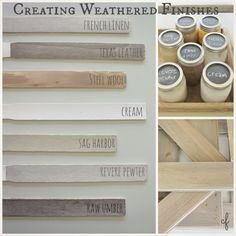 How To Create Weathered Finishes-Inspired Decorating Ideas For Summer Collage