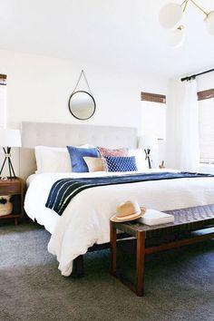 45+ Cozy Boho Style Bedroom Decor And Design Ideas #cozy #bedrooms  #bedroomdecorideas