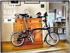 #Brompton# Day ... credit Mark David Hill #BIKEgang #BIKEgangSG #BromptonSociety #BromptonMODs #BromptonLife #MyBrompton #BromptonBicycl