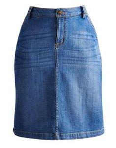 DANI Womens Denim Skirt