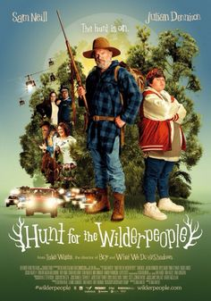 Hunt for the Wilderpeople. Probably the film I've been most looking forward to seeing this year and it didn't disappoint. Everyone should see this film. You'll laugh, you'll cry, you'll want to go to New Zealand.