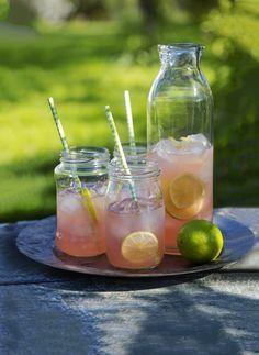 Makeuta raparperimehu mielesi mukaan, lisää jäitä ja nauti. Raikas juoma on täydellinen hellepäivän piristäjä, mutta se sopii myös juhlaan alkumaljaksi.