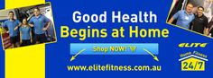 Good Health Begins At Home. Home Fitness Elite Fitness Equipment Billy Slater Fitness 24, Elite Fitness, Fitness Equipment, No Equipment Workout, Health Fitness, Commercial Gym Equipment, Facebook Banner, Home Health