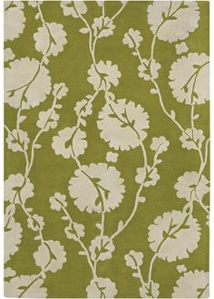 Amy Butler Hand Tufted Wool Rug Georgia Green CH13205