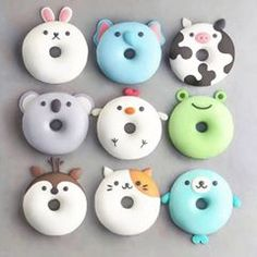 With this collection of donuts you will receive suggestions for donut recipes. Probi The post With this collection of donuts you will receive suggestions for donut recipes. Probi appeared first on Dessert Factory. Desserts Végétaliens, Disney Desserts, Dessert Recipes, Cute Donuts, Donuts Donuts, Mini Donuts, Fried Donuts, Cute Baking, Delicious Donuts