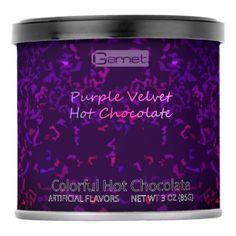#Purple Velvet Hot Chocolate Powdered Drink Mix - #Chocolates #Treats #chocolate