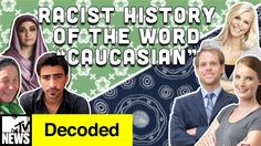 OFFICIAL WEBSITE. Watch the full episode online. Why do we call White People Caucasian? It's an interesting question considering that outside America, Caucasian simply refers to the people from the region around Caucasus Mountains. Not only that, but there's actually a pretty messed up history to what seems like a pretty innocuous word. What is that history? Watch this week's episode of Decoded to find out!!!