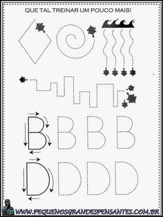 Pequenos Grandes Pensantes.: Atividades com o alfabeto.