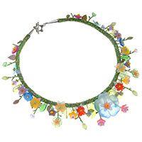 In Bloom Necklace   Beadaholique