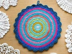 Oombawka Design *Crochet*: My Crochet Bucket List - I Love Holland Dutch Tulip Crochet Mandala