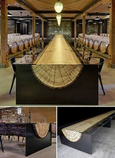 Image on The Owner-Builder Network  http://theownerbuildernetwork.co/ideas-for-your-rooms/home-decorating-gallery/whole-tree-architecture/40-reasons-not-to-burn-those-logs/