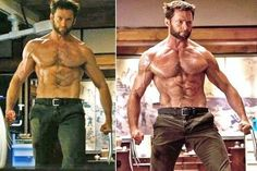 I worked on my abs for months [for Wolverine], but there was a similar intensity preparing to play Jean. Bradley Cooper Shirtless, Hugh Jackman Shirtless, Logan Wolverine, Marvel Wolverine, Rugby Men, Men In Kilts, Stylish Mens Outfits, Big Guys, Muscular Men