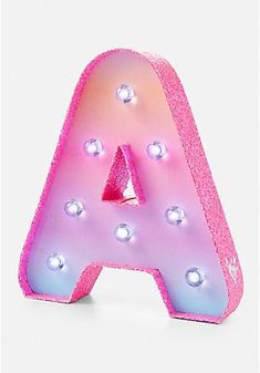 Ombre Initial Marquee Light Unicorn Room Decor, Unicorn Bedroom, Tween Girls, Toys For Girls, Justice Accessories, Marquee Lights, Cute School Supplies, Buy Gift Cards, Cute Room Decor