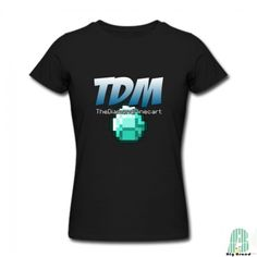 Funny The TDM Logo Women Crew Neck Short Sleeves T-shirts