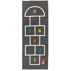 Great idea for kids room - possibly DIY-able  Hop, Skip and a Jump Playmat | The Land of Nod
