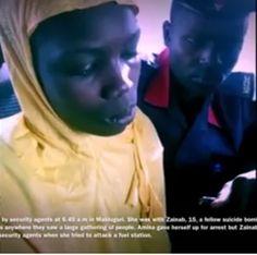 Why I refused to detonate my explosive  female bomber