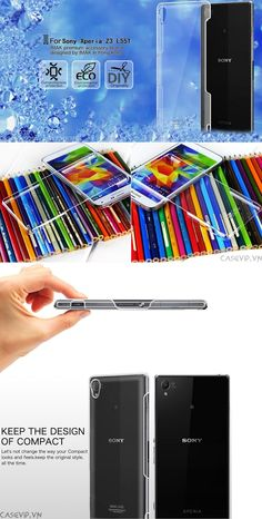 ốp lưng trong suốt xperia z3 hiệu imak Sony Xperia Z3, Lunges, Feelings, Diy, Design, Bricolage, Do It Yourself, Homemade