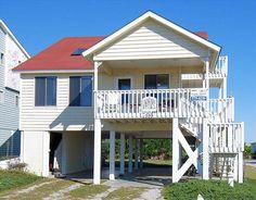 Ocean Isle Beach House Rentals: 399E1 - Ocean View House rental