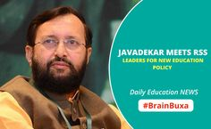 #EducationNews Javadekar Meets RSS Leaders for New Education Policy  --   Union Human Resources Development Minister, Prakash Javadekar met RSS leaders on Thursday. The meeting was conducted on the motive of giving the education policy a new shape. RSS functionaries and representatives of other affiliated organizations met the minister to discuss the new national education policy. Many officials like BJP president Amit Shah, RSS joint general secretary Krishna G...