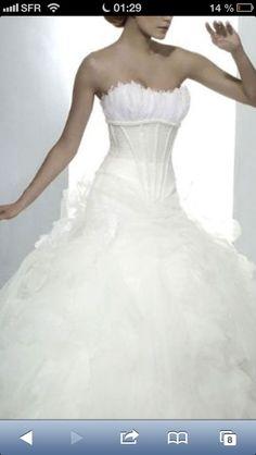 Robe de mariee Iseult / Luxe d'Hervé mariage
