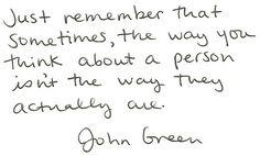 Very, very true.