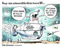 Deep-sea Alvin sub t