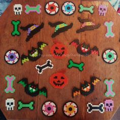 Assorted Bumper Halloween Pack hama perler beads by Harribeads