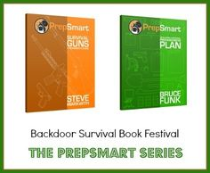"""The new PrepSmart series from Prepper Press featuring """"Developing a Personal Preparedness Plan""""  and """"Survival Guns: A Beginner's Guide"""".  via www.backdoorsurvival.com"""